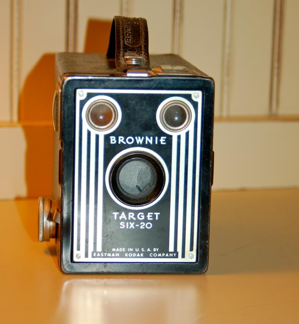 """Old School """"Brownie"""" Camera"""