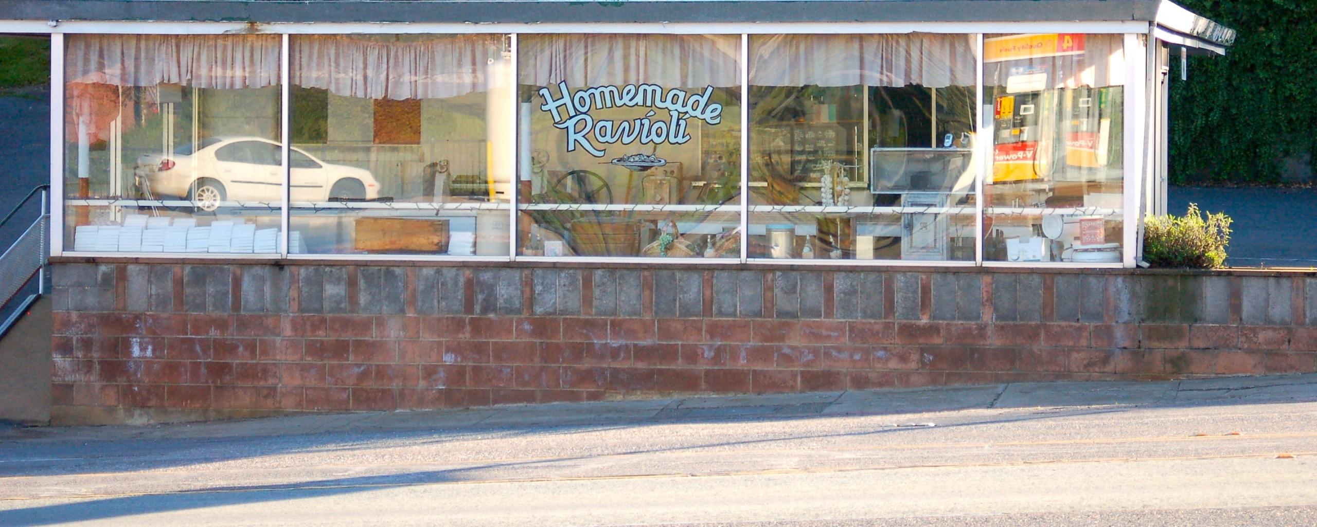 The Ravioli Shop in Jackson, CA.