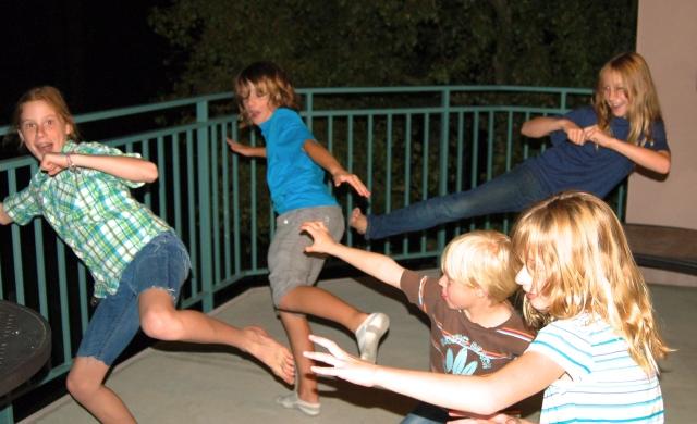 Kung Fu Dancing Cousins