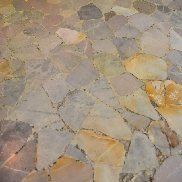 Carefree Terrazzo Tile in an Venetian Shop