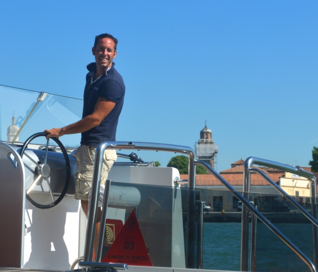 Carefree is a job you LOVE:  Boat Captain in Venice