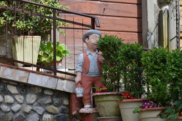 Italian front porch.
