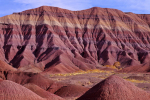 Painted Desert, Petrified Forest National Park, Arizona.